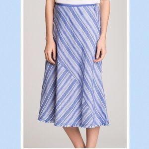 NWOT Anthropologie Linen Boho Maxi Skirt $165